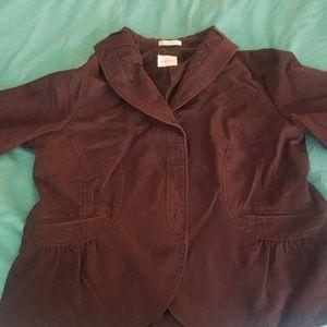 emma james 3/4 sleeve jacket